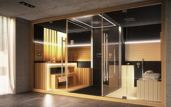 Spa Sauna Kabin infrarot-Modernes Design