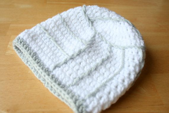 Volleyball Hat white and gray teen sports hat by JandEdoodles