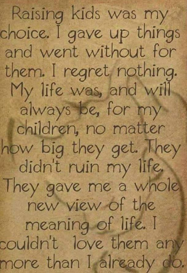 So true! Being a parent is an honor not an option. Not everyone is able to understand this.  #MyWarrior