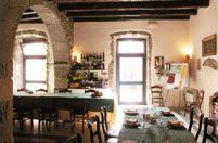 Sala Ristorante antica dimora gruccione