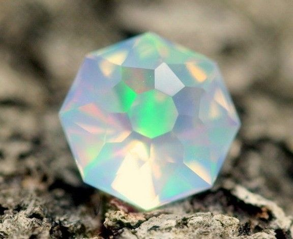 Faceted Opal - Welo, Ethiopia