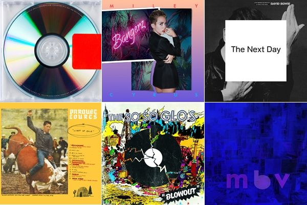Rob Sheffield's Top 20 Albums of 2013From Miley's Bloody Valentine to Kanye's goth-industrial statement to Perfect Pussy's next-school noise...
