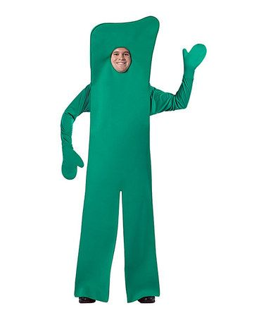 Look what I found on #zulily! Green Gumby Costume - Men #zulilyfinds