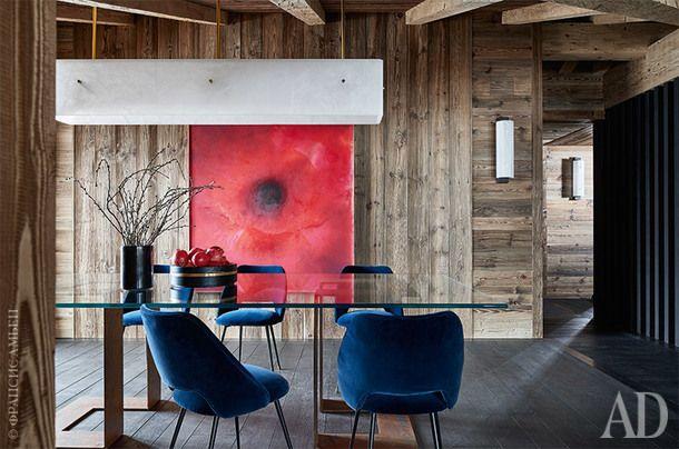 Трехэтажное шале в Гштааде: работа архитекторов из бюро Humbert & Poyet   AD Magazine
