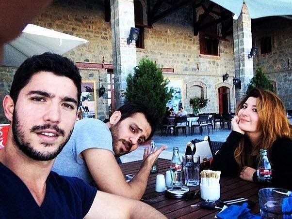 'Ulan İstanbul' dizisinin kamera arkası görüntüleri...