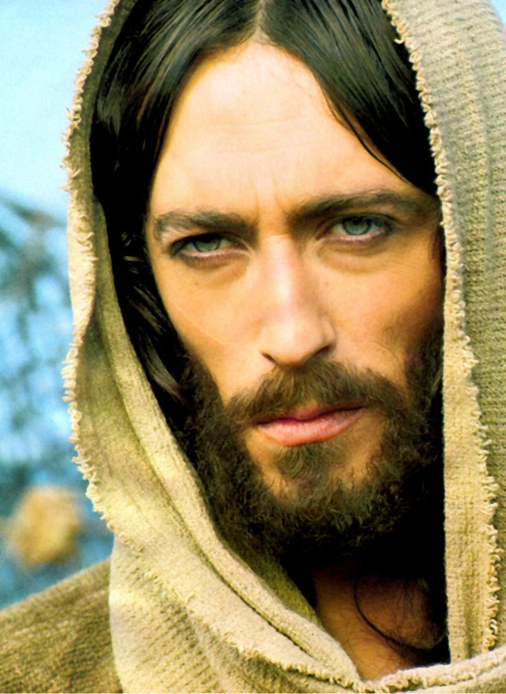 Jesus wore a Hoodie. white, blue-eyed, scary-looking european Jesus, that is. The real miracle is that Jesus was born white in the middle east