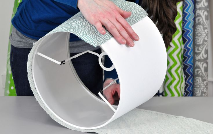 Get the lampshade look you want with step-by-step tutorial on how to measure and cut fabric to cover an existing lampshade. If you have any questions about t...