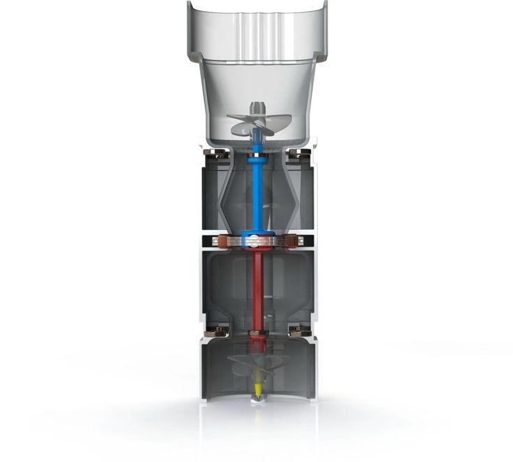 REGN es un prototipo de recolector de agua de lluvia capaz de generar electricidad limpia con el agua recogida.