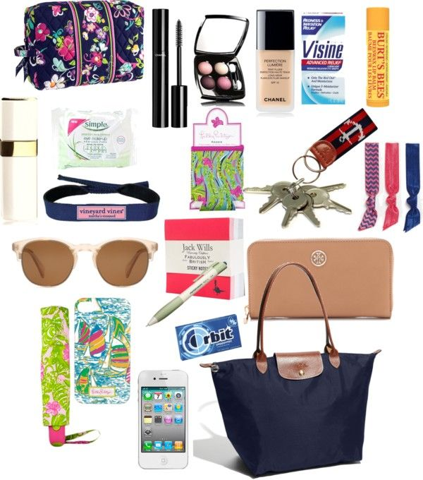 """WhAt's In My~LoNgChAmP"" by karlab-891 on Polyvore"