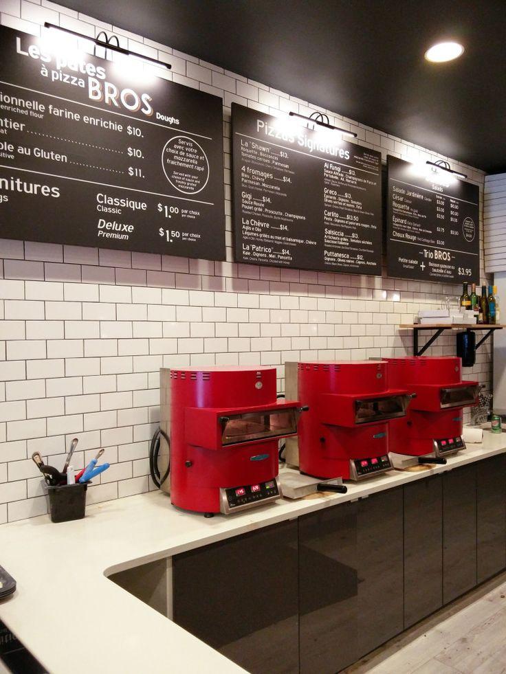 Pizzeria Bros - Une pizza personnelle prête en 2 minutes! Dans le Vieux-Montréal