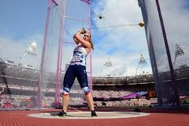 Hammer thrower Sophie Hitchon - London Olympics - British senior record holder