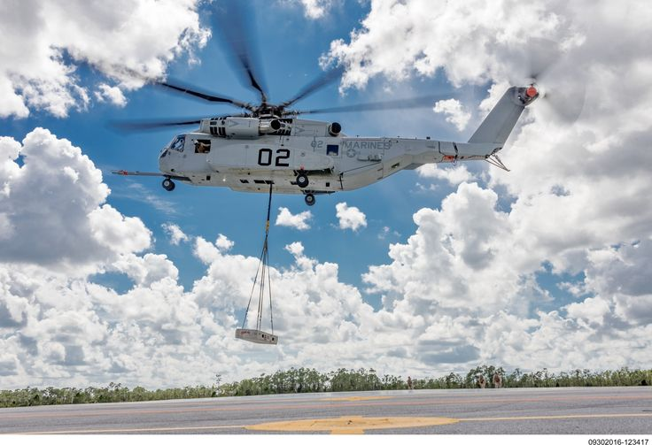 The Marine Corps plans to buy 200 of the heavy-lift helicopters, built by Sikorsky, a Lockheed Martin company.