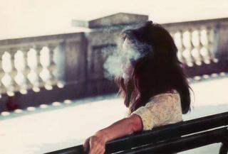 Luigi Ghirri - mi piace il ritratto di questa persona come se fosse un paesaggio.