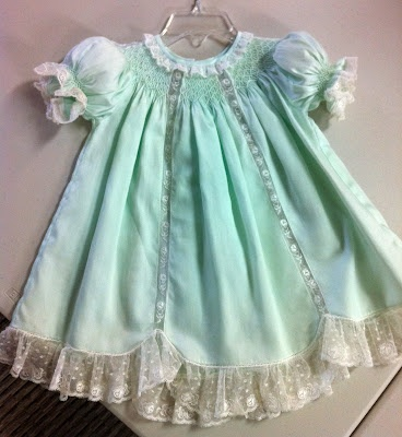 Beautiful vintage inspired baby dress.