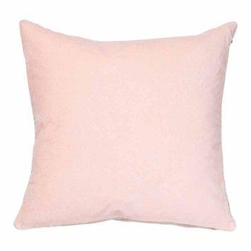 Cotton Velvet Pink Cushion