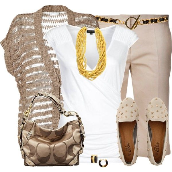 Bermuda Shorts for Work, created by daiscat on Polyvore