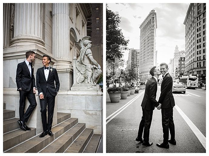 Luis and Eric's Classic New York City Wedding at Prince George Ballroom