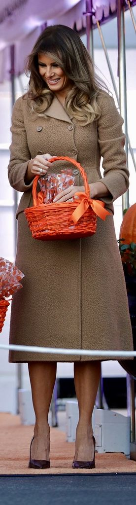 First Lady Melania, Trump Halloween at the White House