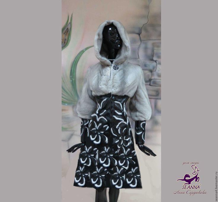 Купить Перешив из старой шубы нового роскошного дизайнерского пальто - перешив шубы, перешив из шубы
