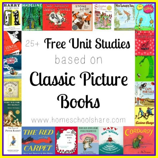 FREE Unit Studies Based on Classic Picture Books - Homeschool Share blog
