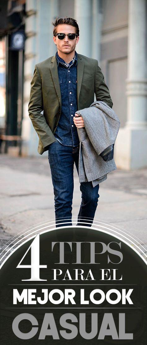 4 tips para el mejor look casual. Guía de consejos sobre vestimenta casual dddd08b159af