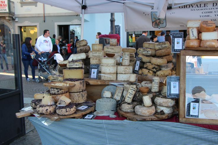 Cheese market at Verbania near Pascia, Lago Maggiore, Oggebbio, Italy. Where you could be staying. Go to https://www.airbnb.com,  https://www.holidaylettings.co.uk, https://www.housetrip.com or https://www.tripadvisor.com to enquire about renting our wonderful apartment.