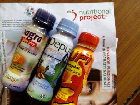 Nel carrello di Chicca: Nutritional Project...bevande funzionali deliziose...