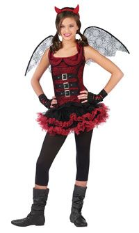 Teen Night Wing Devil Costume Girls Costumes  sc 1 st  Pinterest & The 12 best Cute costumes images on Pinterest | Halloween ideas ...