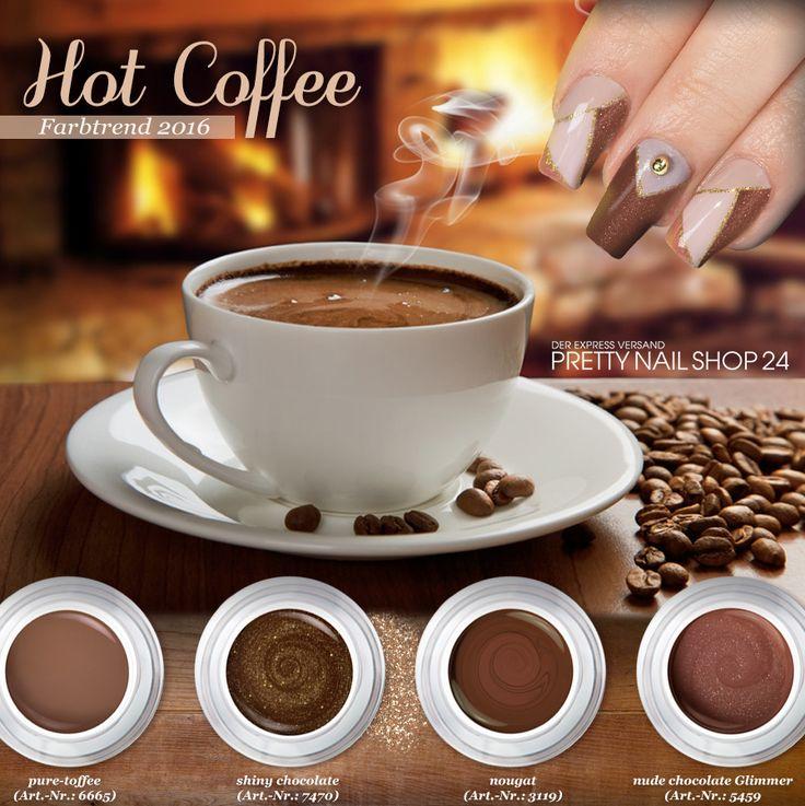 """#coffee   #colors   #nailart   #nails   Die Farbe """"Hot Coffee"""" ist wunderschön warm und natürlich. Vielleicht genau das Richtige für Euch? Lasst Euch inspirieren, Eure Juliane."""