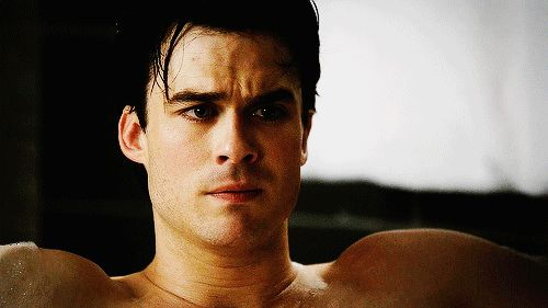 Pin for Later: A Tribute to Damon Salvatore, the Ultimate Vampire Bad Boy  Even when he's sad.