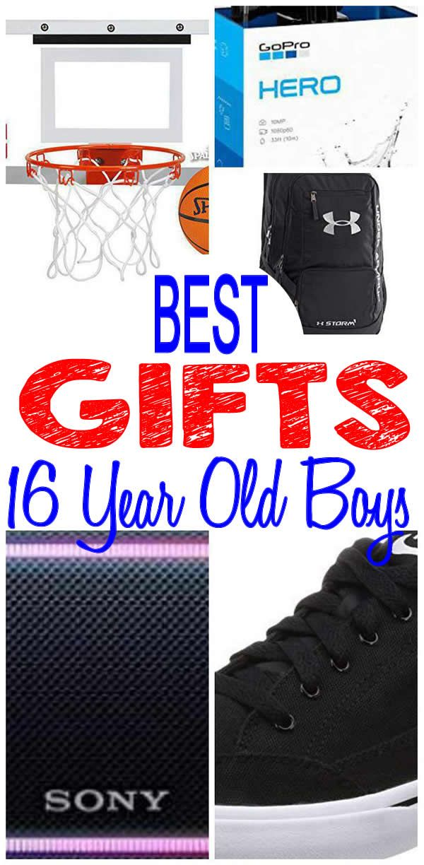 BEST Gifts 16 Year Old Boys Will Love Fun Creative Unique Presents For A 16th Birthday Christmas Or Holiday Find The Most AMAZING Gift Ideas With