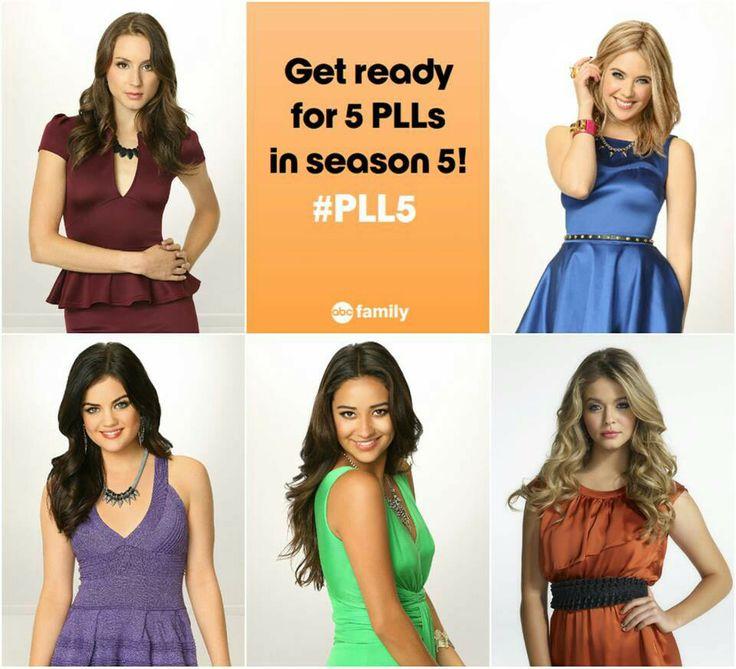 Get ready #PLL5