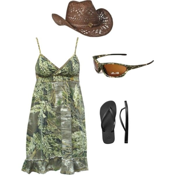 Camo Lake Outfit!, created by lilcountrygal08 on Polyvore