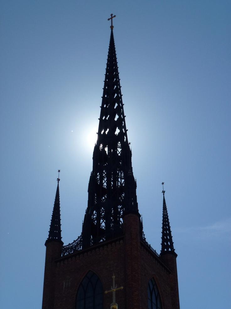 Tower of Riddar Kyrkan