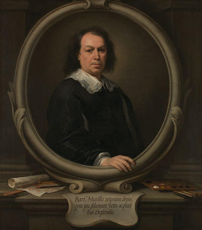 Autorretrato (National Gallery, Londres). Bartolomé Esteban Murillo