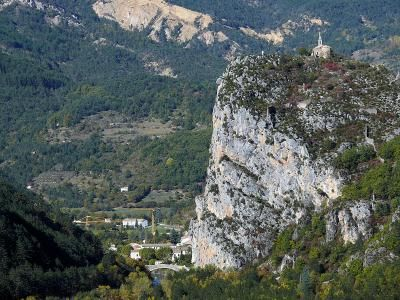 Le roc de Castelane