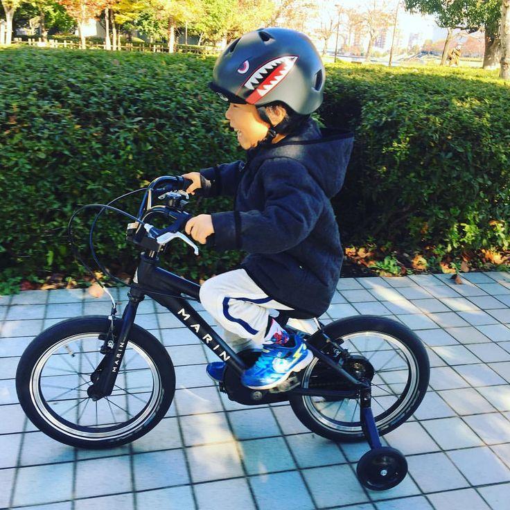 いいね!82件、コメント1件 ― MARINBIKES JAPANさん(@marinbikesjapan)のInstagramアカウント: 「お腹の中にいる時に、#donkyjr を作るキッカケになった息子ももう4歳です。今ではスムーズに#donkyjr16 を乗りこなします🚲 次は2歳8ヶ月の次男に#donkyjr16…」