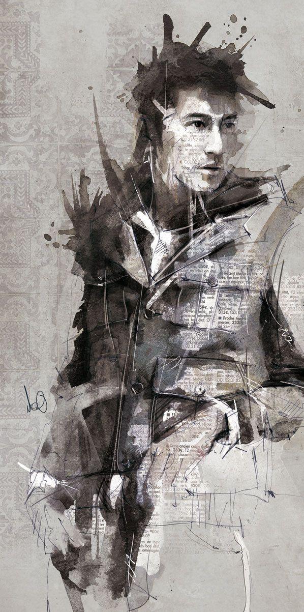 illustrations 2011 by Florian NICOLLE, via Behance [http://www.behance.net/neo_innov]
