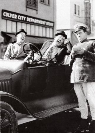 Stan, Ollie and Edgar Kennedy