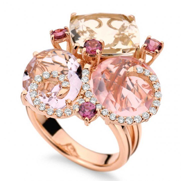 BrumaniBling, Fashion, Cocktails Rings, Jewelry Design, Pink, Jewels, Cocktails Parties, Accessories, Brumani