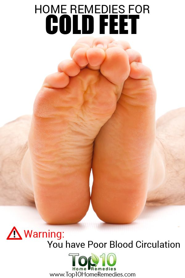 Cold Feet Could Be A Sign Of Poor Blood Circulation. Here Are Top 10 Home Remedies For Cold Feet.