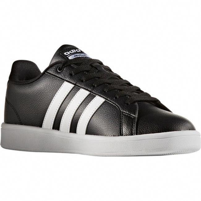 adidas Men's NEO Cloudfoam Advantage Stripe Court Shoe Core Black ...