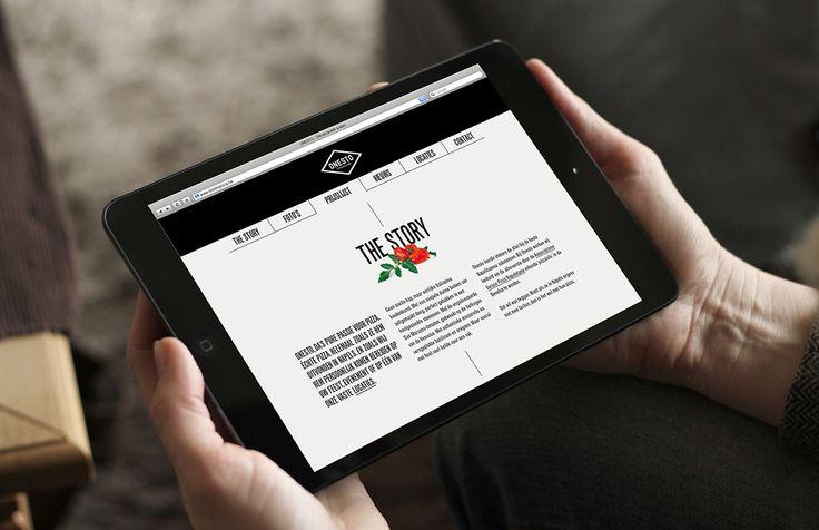 Onesto - One page website | by Skinn Branding Agency