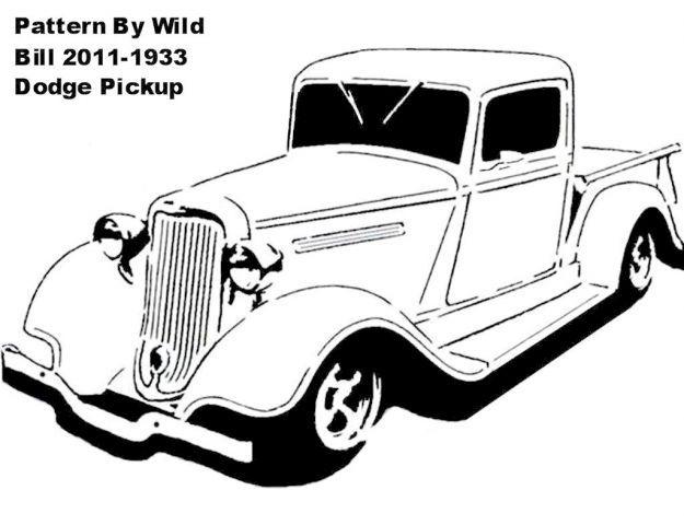 1933 Dodge Pickup Transportation