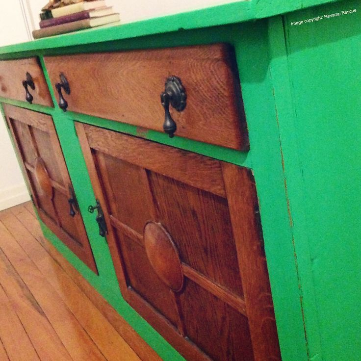 Our lovely manager Joy at our Porter's Paints shop in New Farm, Brisbane is a master colourist and eagerly developed this custom green coloured Chalk Emulsion with Revamp Rescue in order to realise a bold vision for this sideboard. Revamp Rescue has reinvigorated the sideboard in the application of Chalk Emulsion, distressing the edges ever so slightly. In so many ways for us it embodies the vibrant festivities of…