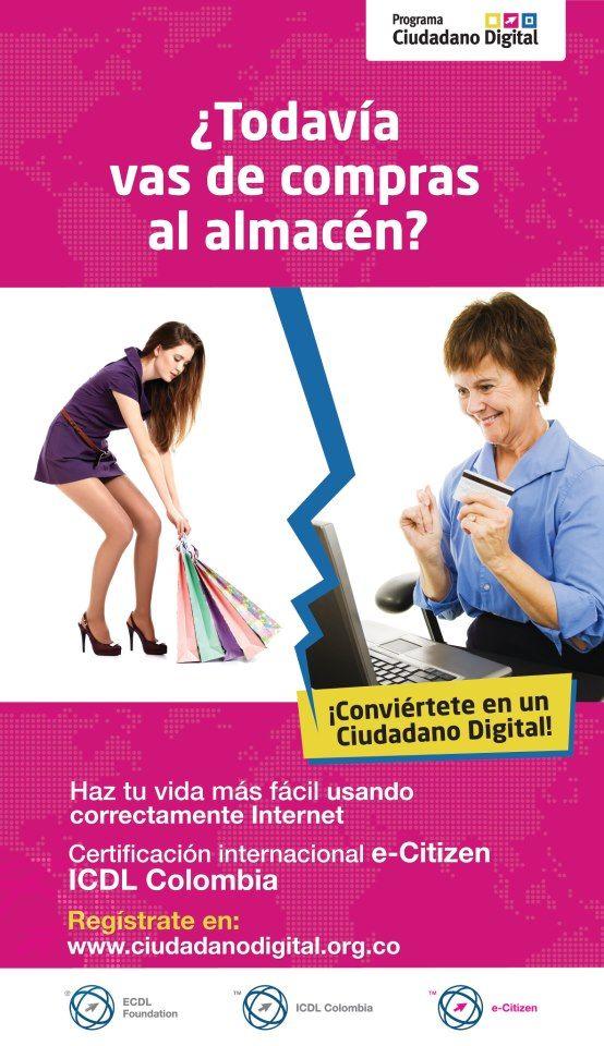 Campaña posicionamiento para la marca #CiudadanoDigital #Publicidad