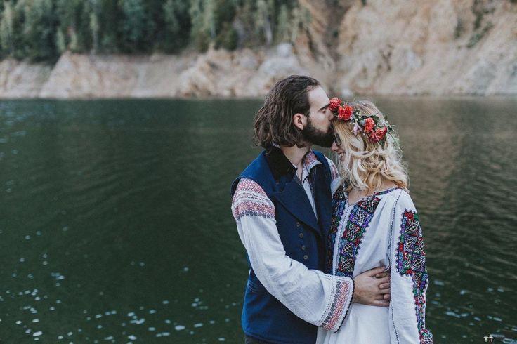 Andreea și Philippe. Nuntă tradițională la Curtea de Argeș