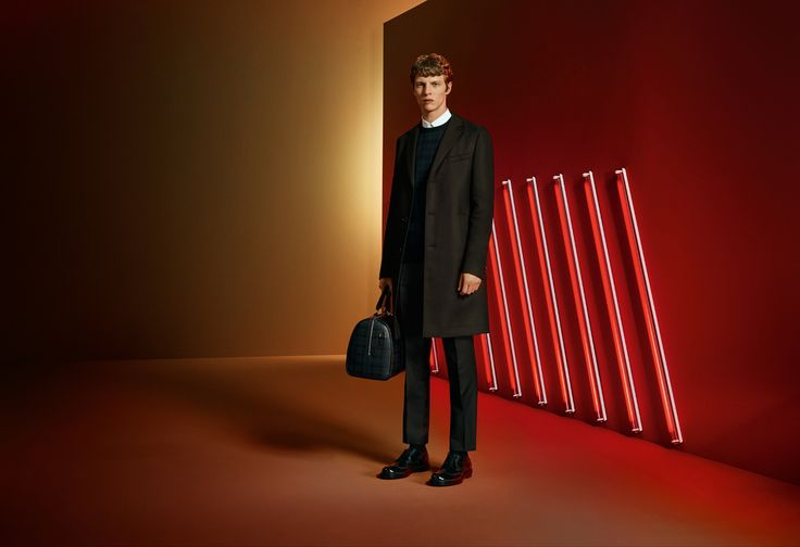 Sharp silhouettes, tartan accessories: make your way through the festive season in BOSS style