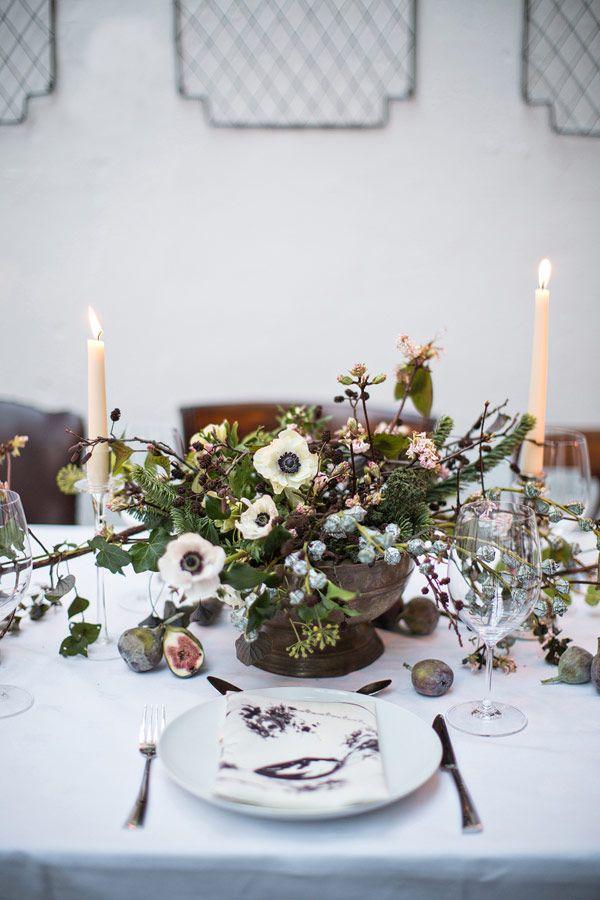 Christmas Table Inspiration – A Modern Irish Celebration, The Informal Florist via One Fab Day