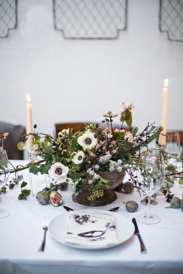 1000 ideas about anemone centerpiece on pinterest white